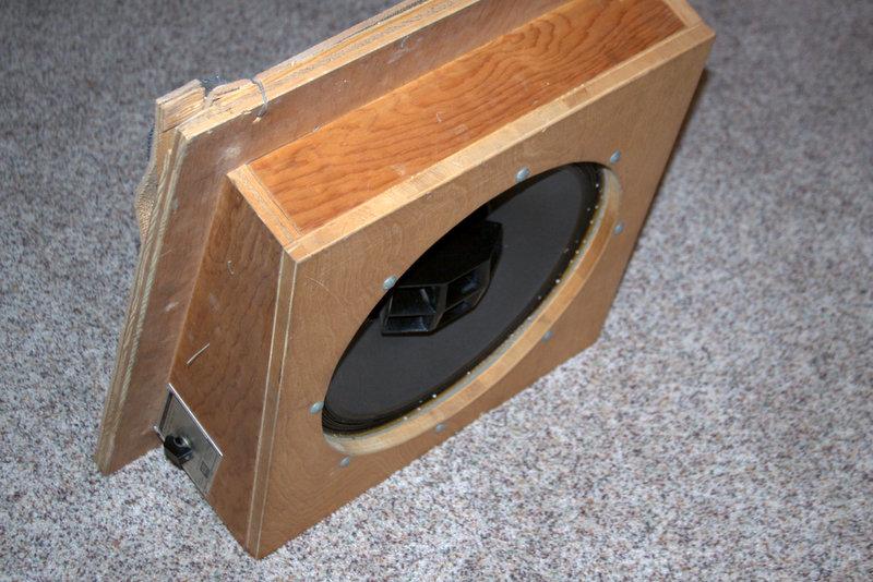 Altec Lansing Super Duplex 604E Speaker N1500 Crossover on
